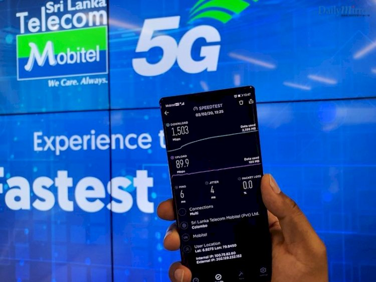 Mobitel brings first 5G experience to Sri Lanka