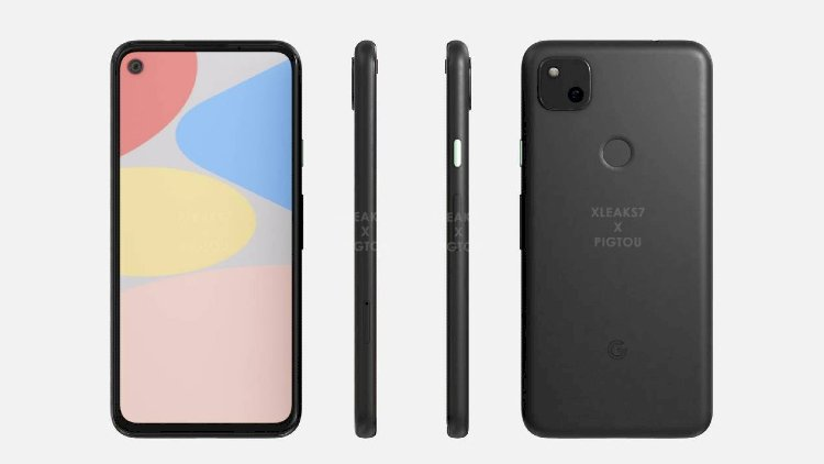Google Pixel 4a newly released mobile phone