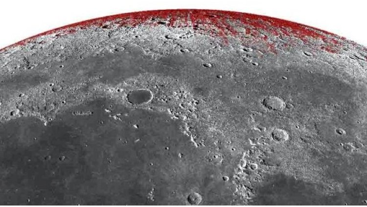 The moon is rusting, Earth is responsible