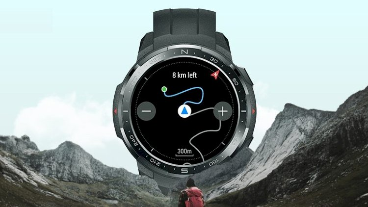 A Smart Watch with GPS