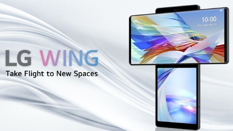 Hey look, LG Wing's here! The dual-screen smart phone