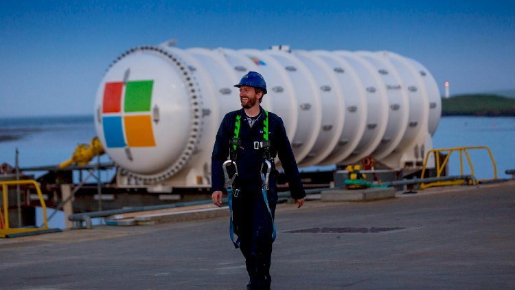 The underwater data center of Microsoft is resurfaces after two years.