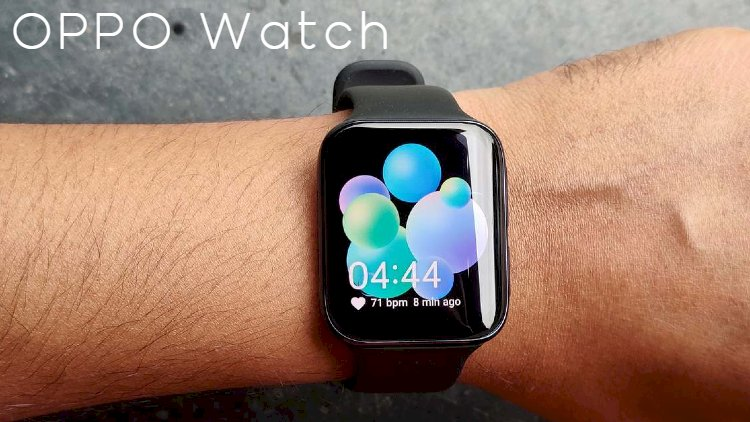 A smart watch from OPPO