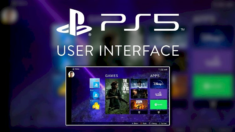 Do you want to see the User Interface of PlayStation 5?