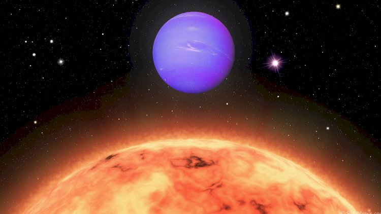 Astronauts discovered an impossible rare hot Neptune planet!